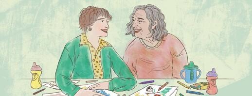 The Surprising Gift of Raising Kids While Caregiving image